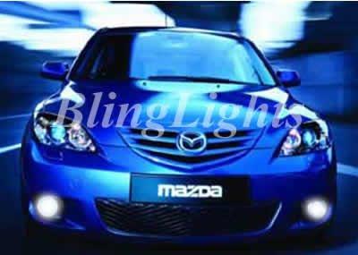 2004-2008 Mazda3 XENON FOG LAMPS lights Mazda 3 04 05 06 07 08