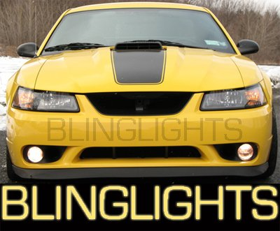 1999-2004 FORD MUSTANG COBRA FOG LAMPS lights 00 01 02 03