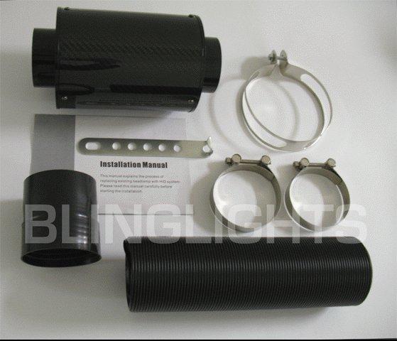 2007-2008 Jeep Wrangler Carbon Fiber Cold Air Intake System 07 08