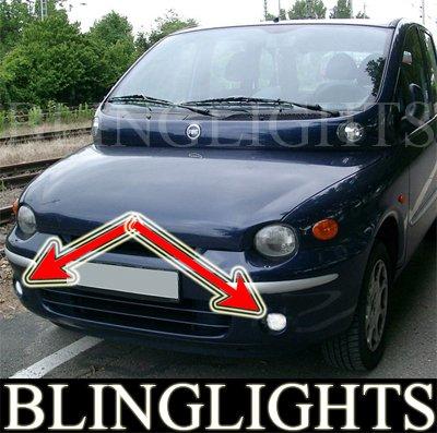 98-2003 FIAT MULTIPLA FOG LIGHTS driving lamps 00 01 02