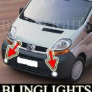 2001-2008 RENAULT TRAFIC CPV CREW PLATFORM FOG LAMPS 07