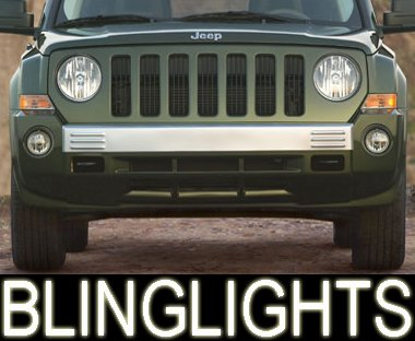 2007-2008 Jeep Patriot Xenon Fog Lamps lights sport crd