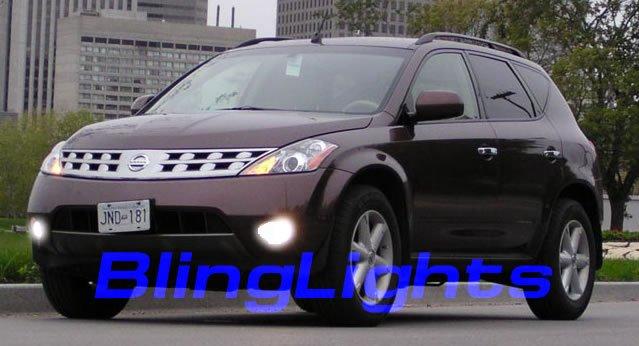 03-08 Nissan Murano Xenon Fog Lamps lights 04 05 06 07