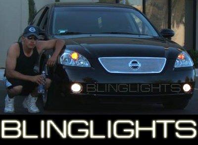 2002-2004 Nissan Altima Xenon Fog Lamps lights led 2003