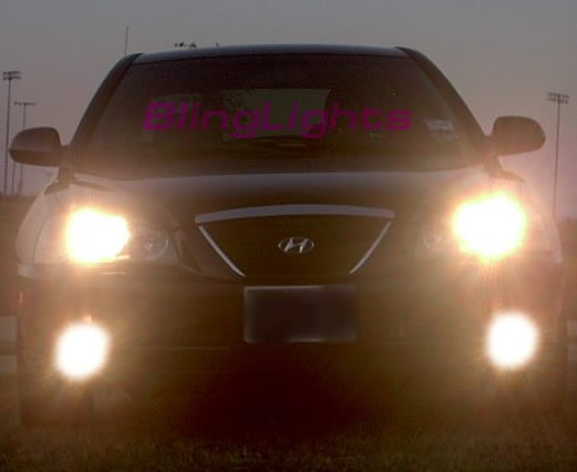 2004-2006 Hyundai Elantra Xenon Fog Lamps Lights 05 hid