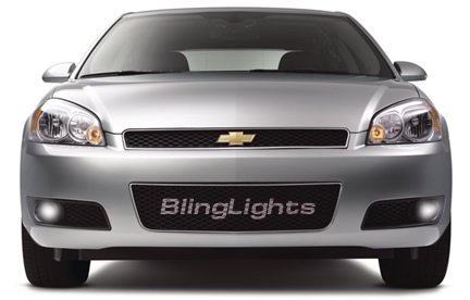 06-08 Chevy Impala Xenon Fog lamps Lights ls 1lt 2lt 07