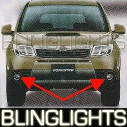 2009 SUBARU FORESTER JDM FOG LAMPS driving lights x 09
