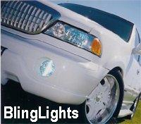 99-05 LINCOLN NAVIGATOR XENON FOG LAMPS lights 02 03 04