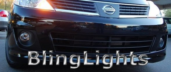 2007-2009 Nissan Versa Xenon Fog Lamps Driving Lights