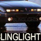 92-98 PONTIAC GRAND AM XENON FOG LAMPS lights grandam