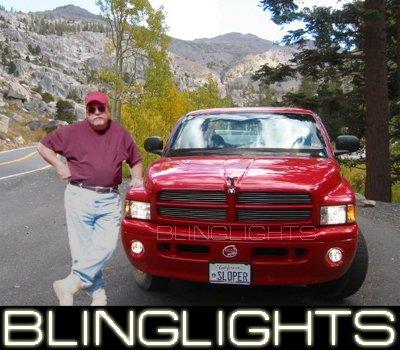 1997-2008 DODGE DURANGO XENON FOG LAMPS lights 02 03 04