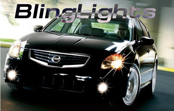 2007-2008 Nissan Sentra Xenon Fog Lamps lights 07 08