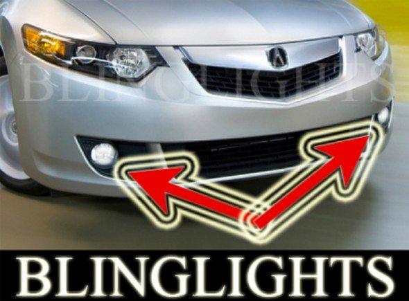 2009 Acura TSX Xenon Fog Lamps Driving Lights 09