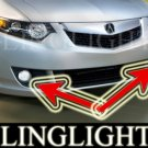 2009 Acura TSX Xenon Fog Lamps Driving Lights 09