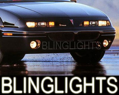 92-98 PONTIAC GRAND AM XENON FOG LAMPS lights grandam