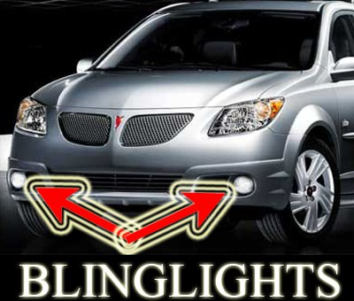 2009 Pontiac Vibe Xenon Fog Lamps Driving lights 09