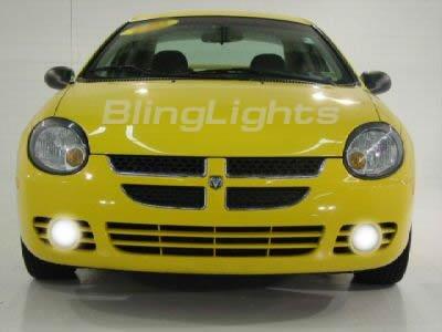 2000-2005 DODGE NEON FOG LAMPS lights hid 01 02 03 04