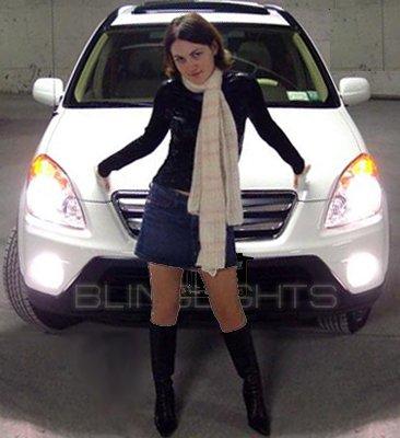 2004-2006 Honda CR-V Xenon Fog Lamps lights white blue