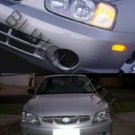 00-03 HYUNDAI ELANTRA/ACCENT XENON FOG LAMPS lights 02
