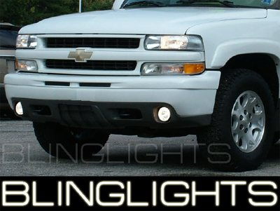 2000-2008 CHEVY TAHOE / SUBURBAN XENON FOG LIGHTS LAMPS