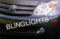 2004-2005 Scion xA White Light Xenon Fog Lamps lights