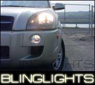 2004-2008 Hyundai Tucson Xenon Fog Lamps lights 06 2007