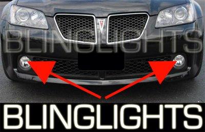 2008 Pontiac G8 Fog Lamps Kit Lights 08 driving gt