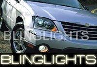 04-07 CHRYSLER PACIFICA XENON FOG LAMPS lights 05 06