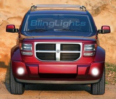 2007-2008 Dodge Nitro Xenon Fog Lamps lights sxt slt 07