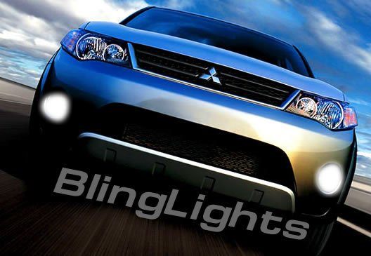 2007-2008 Mitsubishi Outlander Xenon Fog Lamps lights