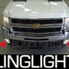 2008 CHEVY SILVERADO FOG LIGHTS lamps 1500 wt ls 1lt 08