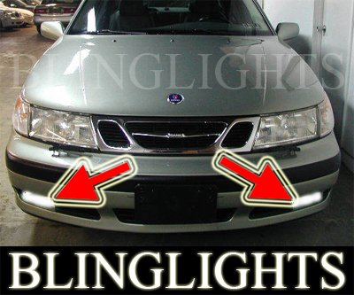 1999-2001 Saab 9-5 Fog Lamps driving Lights 99 00 01 se