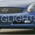 03-08 INFINITI G35 FOG LAMPS coupe/sedan lights 06 07