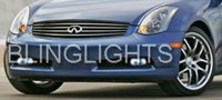03-08 INFINITI G35 FOG LAMPS coupe/sedan lights 06 07