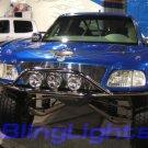 "6"" XL HALO OFF ROAD 4X4 BAR DRIVING LIGHTS FOG LAMPS kc"
