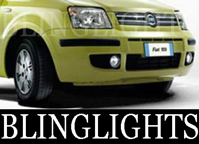 1992-2008 Fiat Panda Halo Fog Lamps lights 04 05 06 07