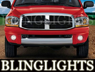 2002-2008 Dodge Ram Fog Lamps 1500 laramie lights 06 07