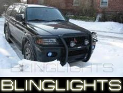 03-08 MONTERO SPORT HALO FOG LAMPS pajero lights 06 07