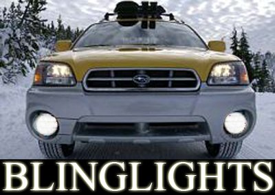 2002-2007 Subaru Baja Halo Fog Lamps lights 06 sport