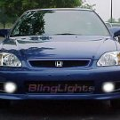 1999-2000 Honda Civic SI Halo Fog Lights lamps 99 00
