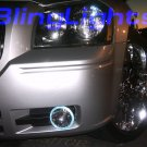 05-08 Dodge Magnum Red Halo Fog Lamps se r/t lights 07