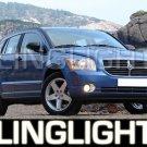 2007-2008 DODGE CALIBER HALO FOG LAMPS lights green 07