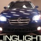 2000-2003 Nissan Maxima Red Halo Fog Lamps 2001 2002 03