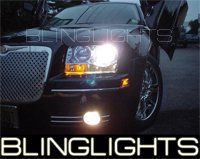 05-08 CHRYSLER 300C GREEN HALO FOG LIGHTS 06 07 LIMITED