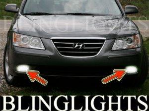2009 2010 Hyundai Sonata Xenon Fog Lamps Driving Lights Kit