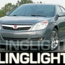 SATURN AURA XENON FOG LAMPS LIGHTS xr xe green 2007 2008 2009