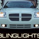 DODGE MAGNUM ANGEL EYE FOG LAMPS LIGHTS LAMP LIGHT KIT 2005 2006 2007 2008 SE SXT R/T SRT8 AWD 08