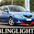 2004-2007 MAZDA 3 MAZDA3 MAXX SPORT XENON FOG LAMPS LIGHTS LAMP LIGHT KIT 2005 2006