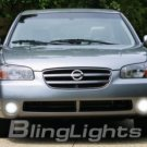 2000 2001 2002 2003 NISSAN MAXIMA XENON FOG LAMPS LIGHTS LAMP LIGHT KIT 00 01 02 03 SE GXE GLE