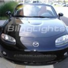2006 2007 2008 MAZDA MIATA MX-5 ANGEL EYE FOG LAMPS HALO LIGHTS DRIVING EYES LIGHT LAMP KIT 06 07 08